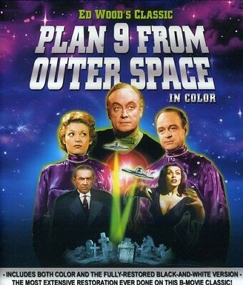 Plan 9 from Outer Space [New Blu-ray] Full Frame
