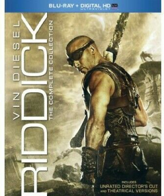 Riddick: Complete Collection [New Blu-ray] UV/HD Digital Copy, 3 Pack, Slipsle