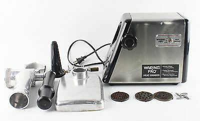 WARNING Pro Stainless Steel Electric Meat Grinder