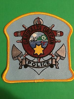 Garibaloi Oregon Police Shoulder Patch    L@@k At My Patch Store