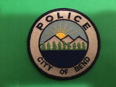 Bend Oregon Police  Round Patch  L@@k At My Store