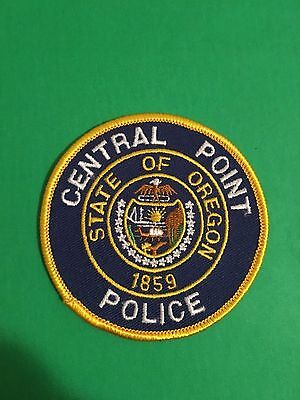 Central Point Oregon Police   Patch   L@@k At My Store