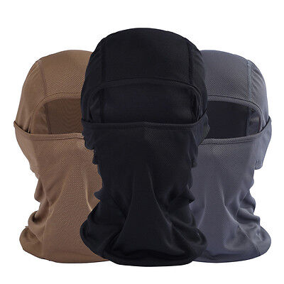 New Cotton Balaclava Mask Windproof Full Face Neck Guard Outdoor Riding Hat Cap
