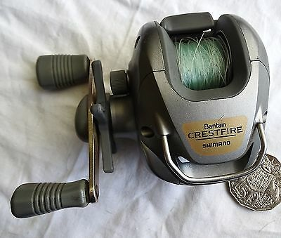 Shimano Bantam Crestfire Cr-200B Fishing Reel All Working Correct Nice One