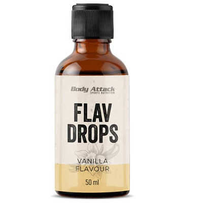 Body Attack Flav Drops 17,98€/100ml 50ml FlavDrops Flavour Low Carb