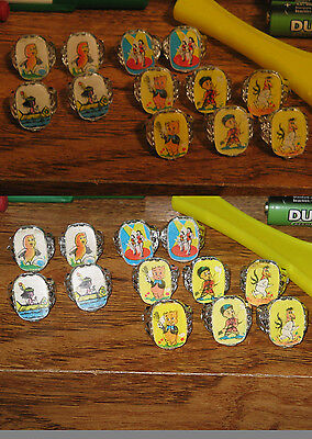 cereal premium (1 item) ring 1960s flicker flasher EASTER CHICK gumball prize