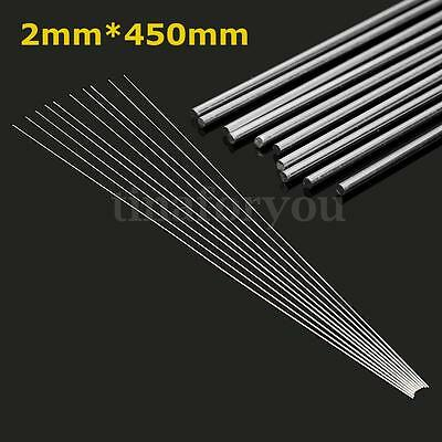 10pcs 2mm Aluminium Low Temperature Welding Brazing Rod For all AL Parts 45cm