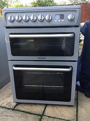 Hotpoint DSC60S Electric ceramic cooker silver