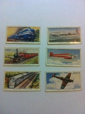 Wills 6 Speed Cigarette Cards 1938
