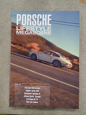 Porsche Lifestyle Megascene Magazine Issue One Porsche 356 550 911 914 Features