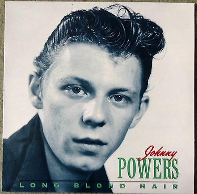 Johnny Powers: Long Blond Hair