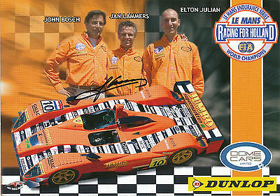 Jan Lammers Racing for Holland Le Mans 2005