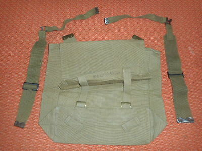G.britain Army :  Wwii - Big Backpack Haversack & 2 L Straps ,wwii 1945