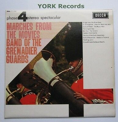 BAND OF THE GRENADIER GUARDS - Marches From The Movies - Ex Con LP Record Decca