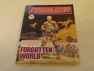 Starblazer Picture Library,no 101,1983 Issue,good For Age,very Rare Sci-Fi Comic