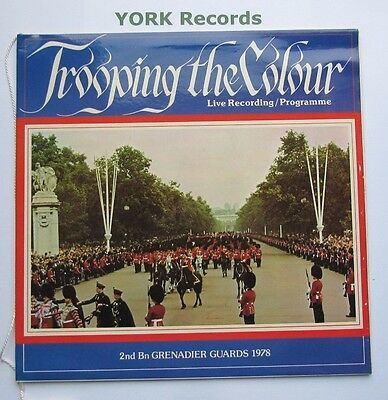 BAND OF THE GRENADIER GUARDS - Trooping The Colour 1978 - Ex Con LP Record