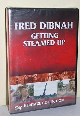 Fred Dibnah Getting All Steamed Up - Sealed Dvd