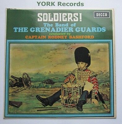BAND OF THE GRENADIER GUARDS - Soldiers! - Ex Con LP Record Decca SKL 4750
