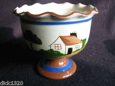 VINTAGE TORQUAY/LONGPARK PEDESTAL SUGAR BOWL Help yourself to sugar c.1950's