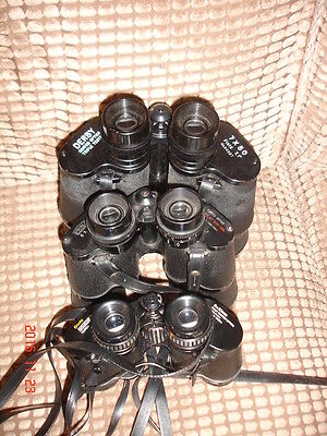 JOB LOT / BUNDLE - 3 x BINOCULARS .(B)