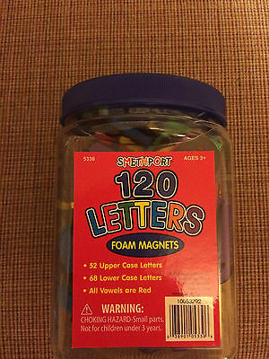 Smethport 120 Letters Foam Magnets Ages 3+
