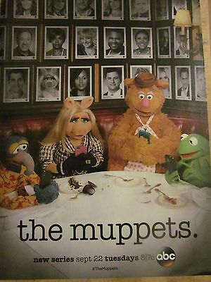 The Muppets, Full Page Promotional Ad