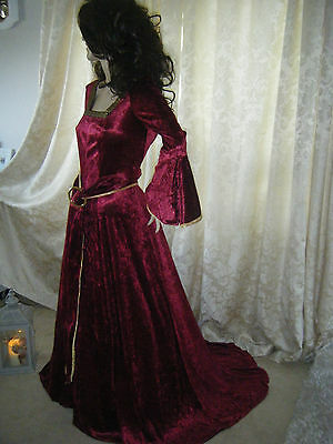 Medieval Renaissance Costume * Mother Gothel* Halloween  *tangled* Fancy Dress