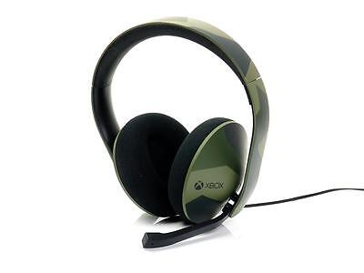 Microsoft Xbox ONE original STEREO HEADSET -Armed Forces Camouflage- Mikrofon