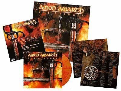 AMON AMARTH The Avenger FIRE SPLATTERED Vinyl [LTD300] *EXCLUSIVE* ORIGINALS