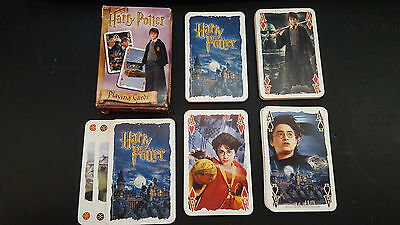 Harry Potter film playing cards complete