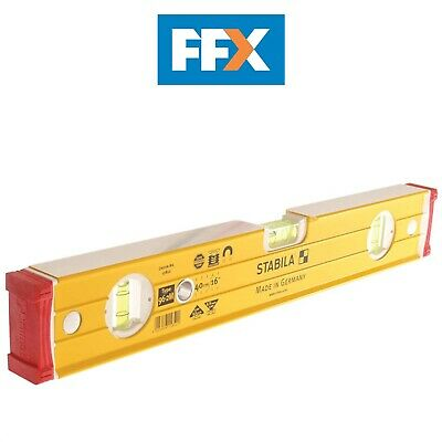 Stabila STB96M248 Magnetic Level 3 Vial 120cm / 1200mm / 48in / 4ft