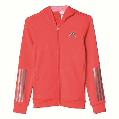 adidas Mädchen Sport Trainings Jacke Training Full Zip Hoodie pink