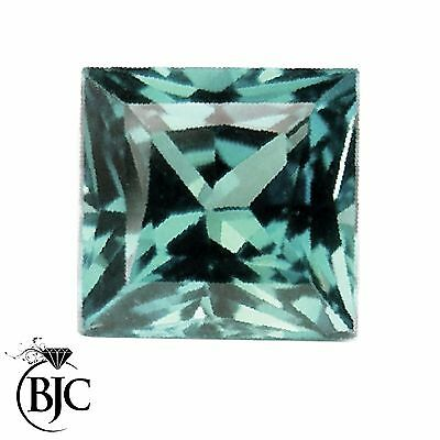 BJC® Loose Princess Cut Natural Untreated Aquamarine Stones AA Grade Mixed Sizes