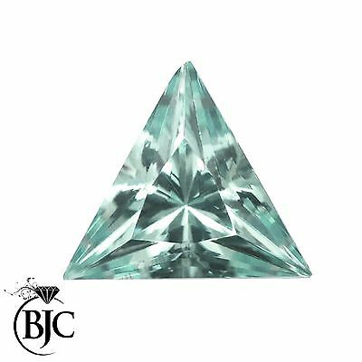 BJC® Loose Triangle Cut Natural Untreated Aquamarine Stones AA Grade Mixed Sizes