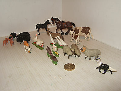 Britains Farm Animal Pack B, 20 pièces Collie, Cows, Chevaux, Ram,Mouton, Oies