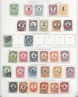 Haiti stamps 1904 Collection of 30 CLASSIC stamps  HIGH VALUE!