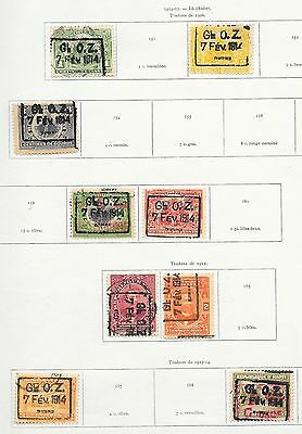 Haiti stamps 1914 Collection of 9 CLASSIC stamps  HIGH VALUE!