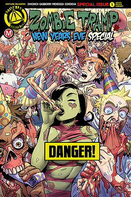 Zombie Tramp New Years Eve 2016 Cvr F Winston Young Risque (Mr) - 12/28/16+