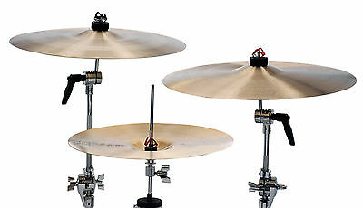 Pinch Clip Cymbal Locks - Eliminates Wing Nuts For Faster Setup