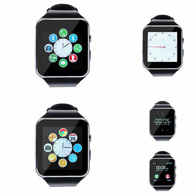 X6+ Smartwatch Bluetooth fitness Smart uhr Handy Kamera Push Up  Touch Screen