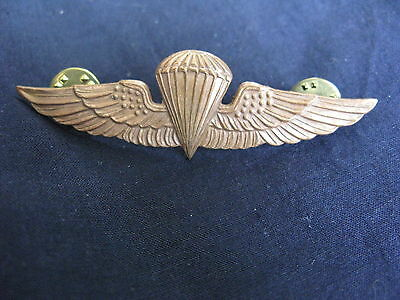 RARE Original VIETNAM War  US MARINE PARATROOPERS BADGE!!