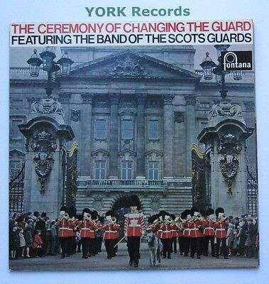 BAND OF THE SCOTS GUARDS - Changing The Guard - Ex LP Record Fontana STL 5345