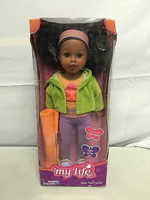 """NEW My Life as Yoga Instructor African American Doll 18"""" Madame Alexander RARE"""