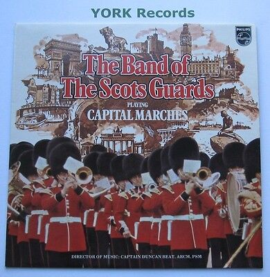 BAND OF THE SCOTS GUARDS - Capital Marches - Ex Con LP Record Philips 6308 246