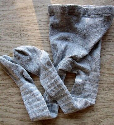 The Little White Company - Grey & Silver Tights Age 4-5 yrs