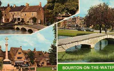 Vintage Postcard Bourton-on-The-Water Colourmaster International