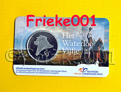 Nederland - Pays-Bas - 5 euro 2015 in blister.(Waterloo)