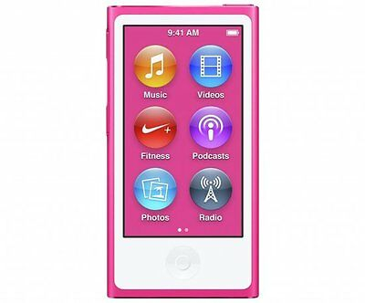 Apple iPod A1446 Nano 7th Generation 16GB Portable MP3 Music Player Pink