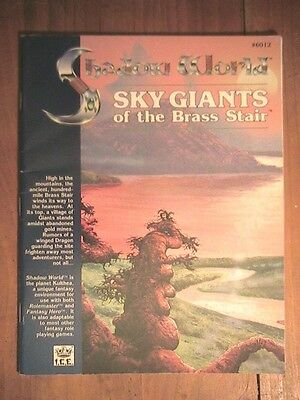 50 Rolemaster Shadow World Sky Giants of the Brass Stair