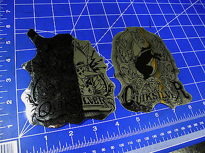 new* Quiksilver Surf sticker lot of 2 foil steampunk